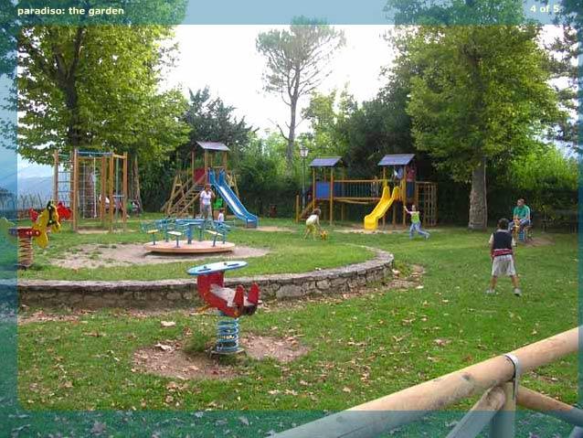 Parco giochi per bimbi - Hotel Paradiso