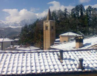 Neve ad Amandola (Parco Nazionale dei Monti Sibillini)
